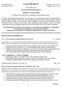 Project Manager Resume Objective Examples Project Manager Resume Objectives Best Resume Sample