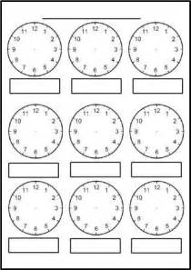 clock template ks2 free printable blank clock faces worksheets math thinks