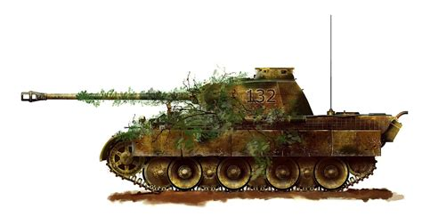 Tank Cover Panther panzer v panther with camouflage wallpaper and background 1600x825 id 405082