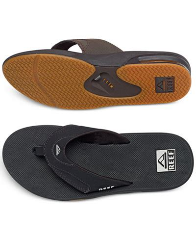 reef golf sandals reef s fanning sandals with bottle opener all