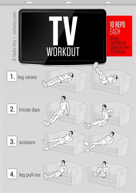 couch workout 20 easy workouts you can do at home to lead a healthy life