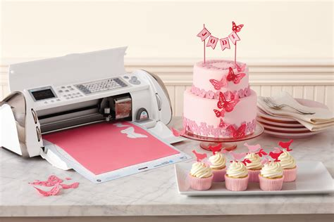 with cricut mille feuille cricut cake decorating machine