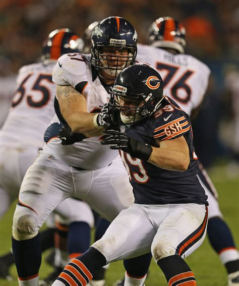 chicago bears c 4 shea mccellin in denver broncos v chicago bears zimbio