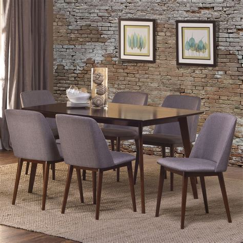 Cappuccino Dining Room Furniture Collection Hillsdale Furniture Allentown 7pc Dining Room Set In Cappuccino By Dining Rooms Outlet