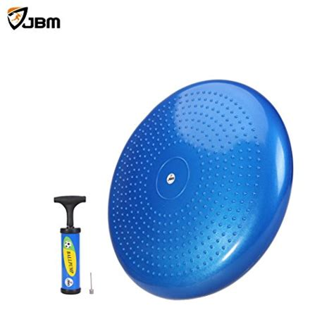 wobble board seat jbm balance disc exercise stability disc board trainer pad wiggle wobble seat 13 ebay