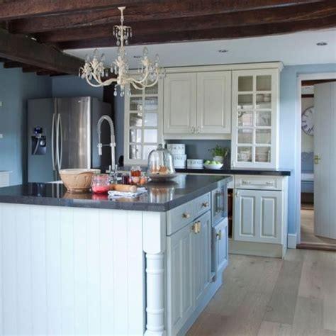 blue kitchen cabinets ideas 20 refreshing blue kitchen design ideas rilane