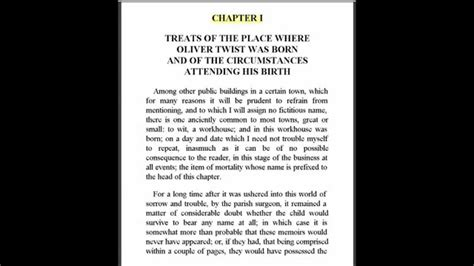 1000 plot twists for your next novel books oliver twist by charles dickens chapter 1 for