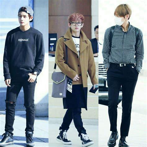 kim taehyung clothes bts airport fashion army s amino