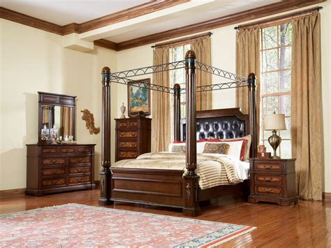 canopy king bedroom set classic canopy bedroom sets ideas