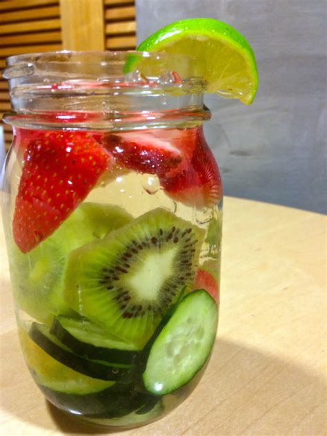 Detox Water Lemon Cucumber And Strawberry by Strawberry Cucumber Detox Water