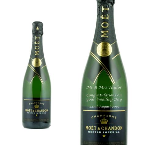 buy personalised mo 235 t chandon nectar blanc de blanc