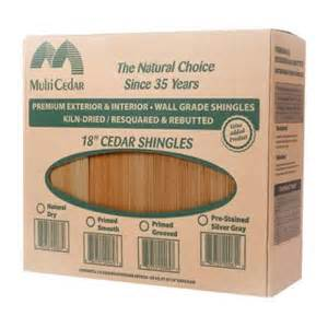 Cedar Shake Siding Home Depot Grooved Cedar Sidewall Shingles 234514 The Home Depot