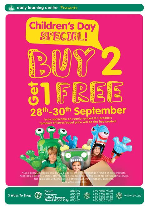 Buy 1 Get 1 Promo Apple Learning Qu Ran early learning centre buy 2 get 1 free promotion 28 30 sep 2012