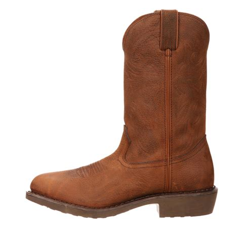 boots farm and ranch 12 quot durango farm ranch s pull on leather work boots