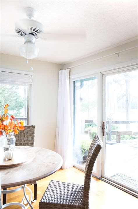 how to make wide drapes for sliding glass doors in
