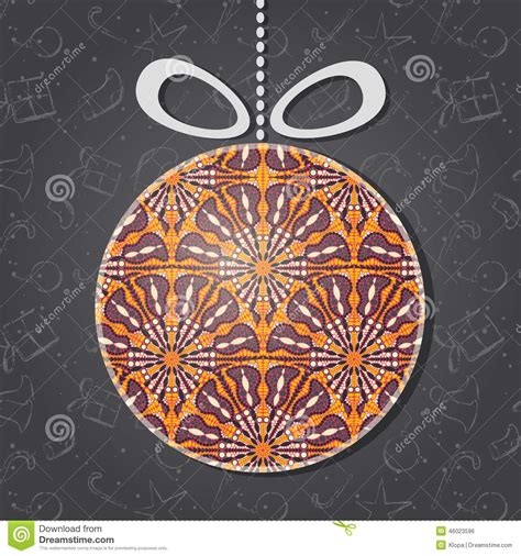new year ornament vector free merry greeting card with glass ornament stock