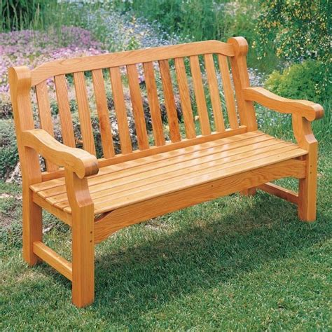 wood garden bench english garden bench plan rockler woodworking and hardware