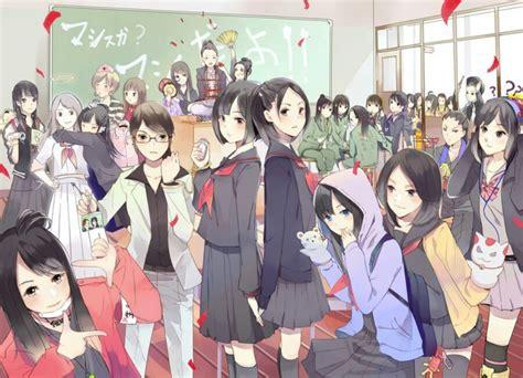 film anime untuk anak perempuan kehidupan anak sekolah jepang apakah sama dengan film