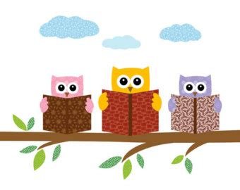 owl reading book best owl reading clipart 21049 clipartion com