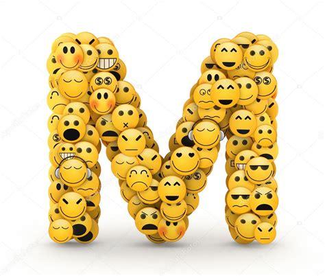 lettere m emoticon lettera m foto stock 169 iunewind 29994363