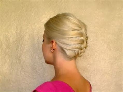 shoulderlength hairstyles could they be put in a ponytail french braid updo hairstyles for short medium long