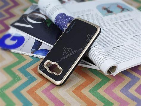 Motomo Samsung Galaxy J2 motomo samsung galaxy j2 gold kenarl箟 siyah silikon k箟l箟f