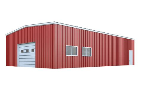 Pole Barns Cost 30x40 Garage Packages Quick Prices General Steel Shop