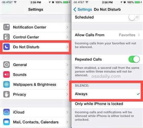 iphone do not disturb how to turn do not disturb on iphone for a contact