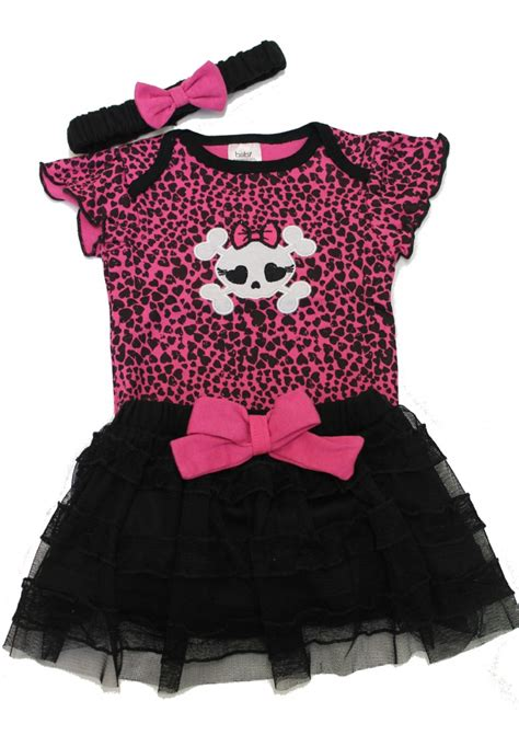 Punk baby clothes skull baby outfit baby moo s clothes uk