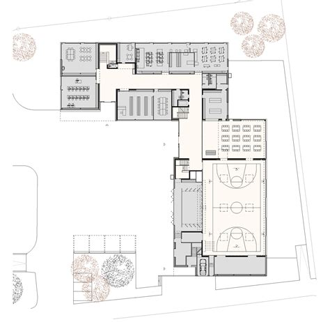 sle floor plan of a house gallery of multipurpose sports hall and secondary school