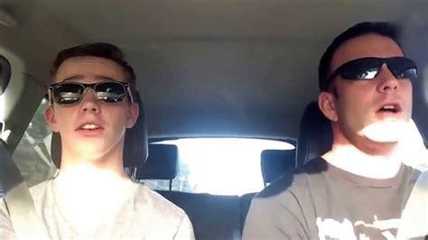 shake it shake it hilarious and shake it in their hilarious car karaoke