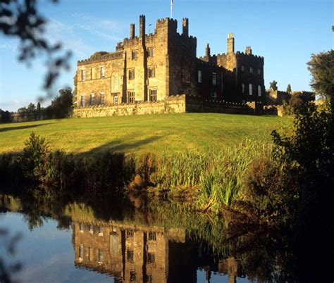 ripley castle gardens harrogate  yorkshire