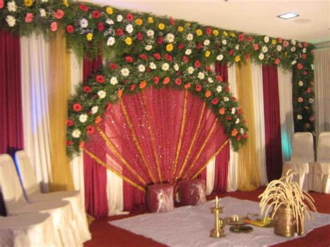 Simple Wedding Decorations For Home Simple Wedding Stage Decoration Ideas Best Home Design 2018