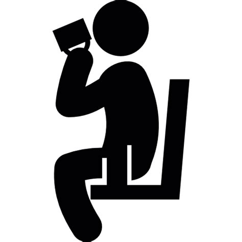 drink icon png person sitting and drinking free people icons