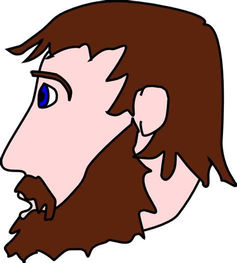 With Beard Clipart