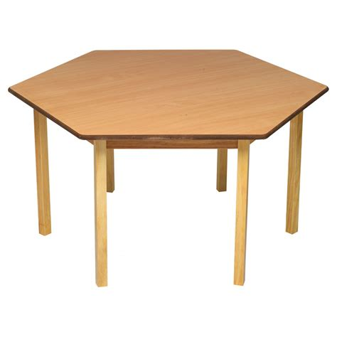Html Table Class by Tuf Class Hexagonal Table Beech