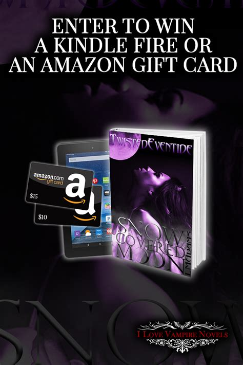 Gift Cards For Kindle Fire - win a kindle fire a 10 or 15 amazon gift card from author l m adams http www