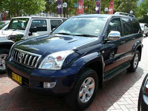 toyota land cruiser 2007 2005 toyota prado uk