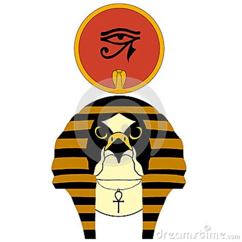 imagenes de dios ra vector illustration of the ancient egyptian god ra cartoon