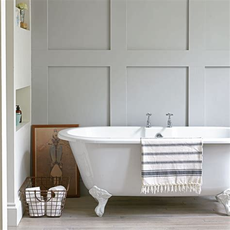 panelled bathroom ideas grey bathroom ideas to inspire you ideal home