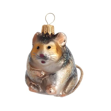 field mouse christmas ornament gump s