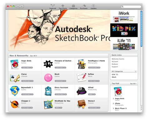 sketchbook pro on app store apple atver mac app store macpasaule