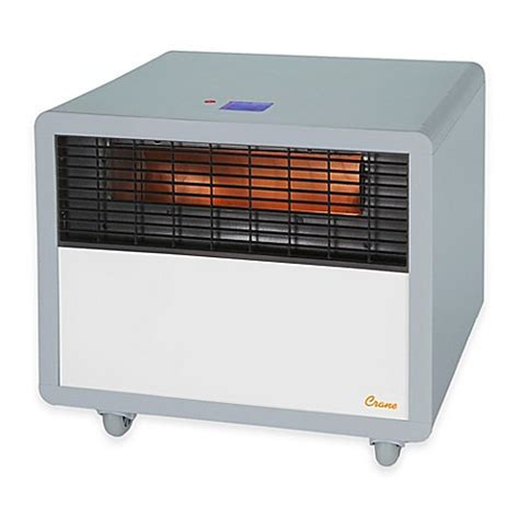 bed bath and beyond heater buy crane infrared smart heater in slate from bed bath