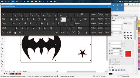Keyboard X7 Baru cara membuat objek tepat di tengah dengan coreldraw x7 coastalicious