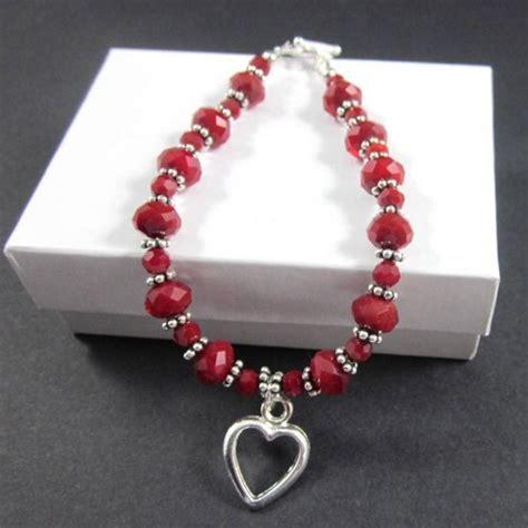 valentines bracelets silver pewter bracelet with