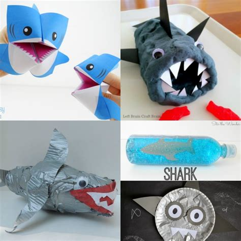easy shark crafts for shark crafts and activities for elemeno p