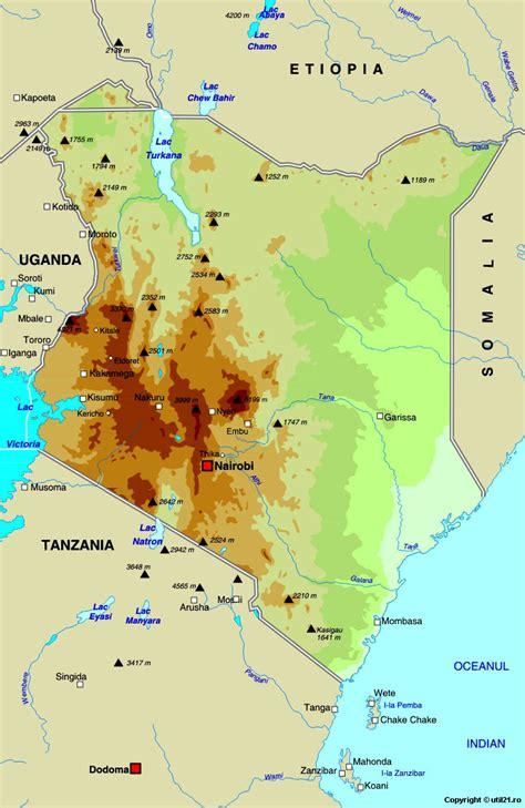 world map of kenya map of kenya maps worl atlas kenya map maps
