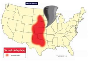 tornado alley map just where is tornado alley wbrc alert weather