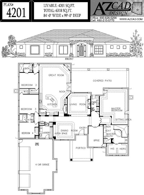 arizona floor plans azcad com drafting arizona house plans floor plans