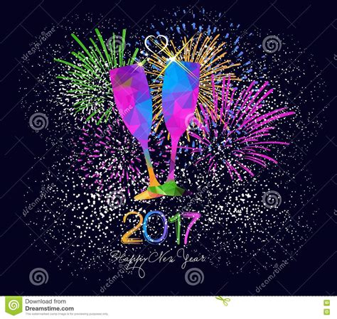 new year greeting posters happy new year 2017 background colorful greeting card